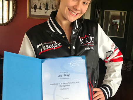 Congratulations Miss Lily