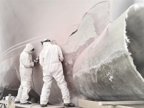 Fiberglass Boat Repair Technician