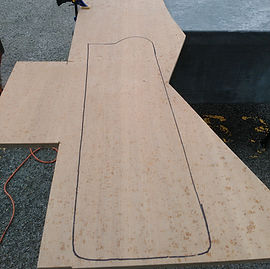 New traced out rudder