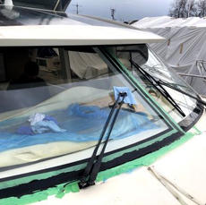 Glass Windshield Install