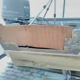 Replacing the hull core