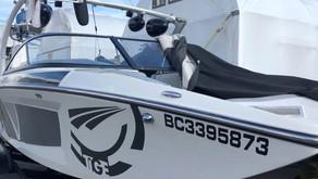 Tige RZ2 Starboard Windshield Repair