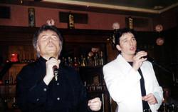 Sänger Bernd Bernard+Peter Orloff