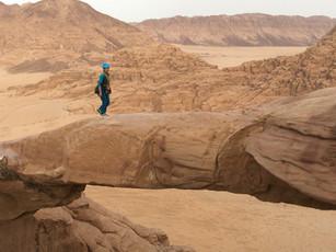 Abstieg Wadi Rum
