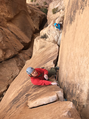 Wadi Rum Gäbs in The Beauty 6a+