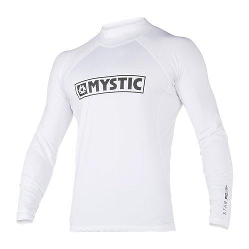 MYSTIC STAR L/S RASHVEST - WHITE - 2020