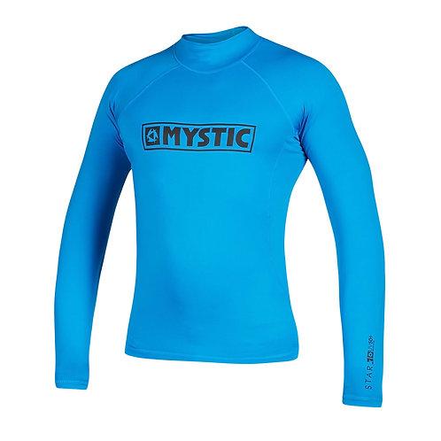 MYSTIC STAR L/S RASHVEST - BLUE - 2020