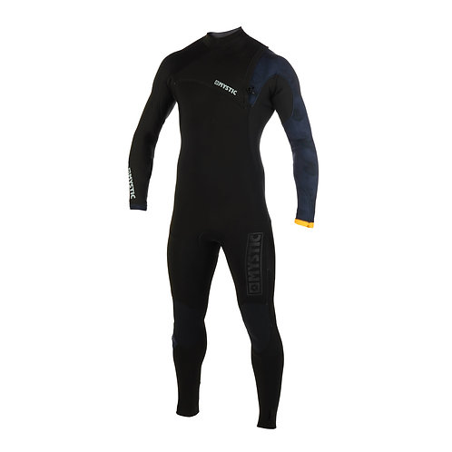 MYSTIC MAJESTIC 4/3MM FULLSUIT ZIPFREE - BLACK - 2020