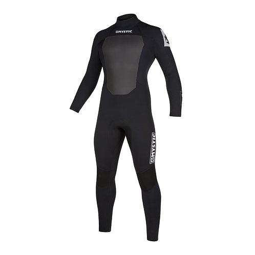 MYSTIC STAR 5/3MM - BACK ZIP WETSUIT - NAVY - 2020