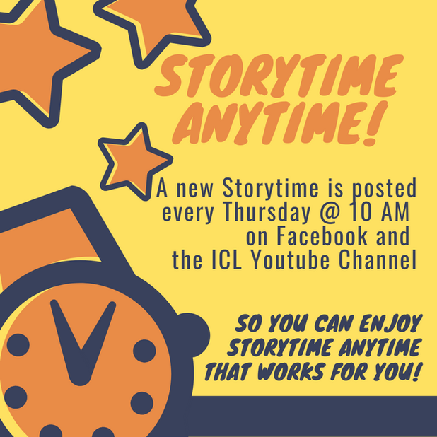 Watch Storytime when it fits in your scheudule!