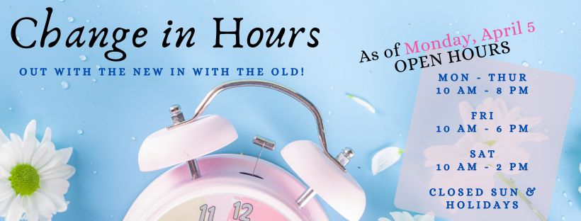 Change of Hours
