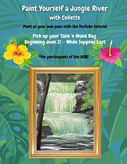 Paint Yourself a Jungle River wCollette