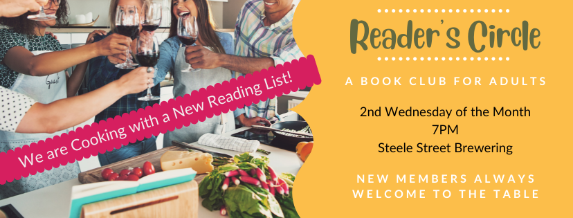Reader's  Cirlce is Cooking with new books!