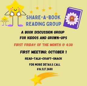 Share a Book Reading Group