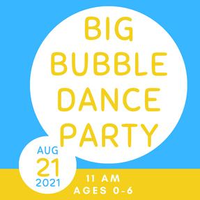 Big Bubble Dance Party