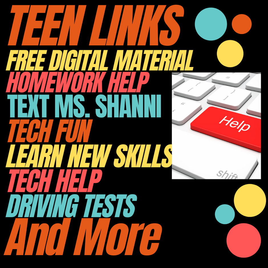 Links Just for Teens