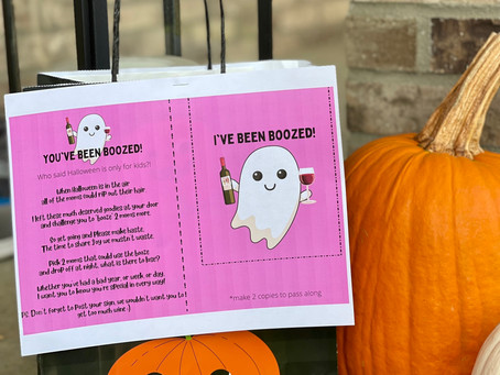 You've Been Boozed Printable