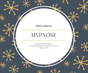 Bon Cadeaux Noël Hypnose Nice