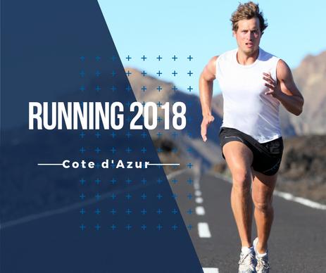Le calendrier des évènements running sur la Côte d'Azur en 2018