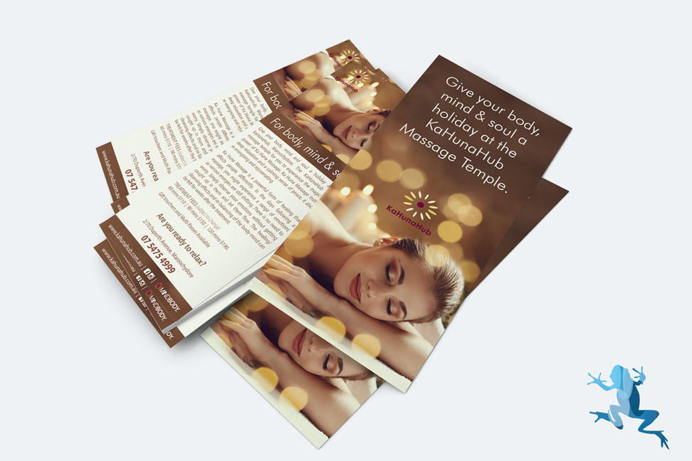 DL Flyers by The Creative Frog