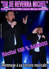 Affiche Récital Michel SARDOU