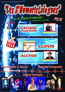 Spectacle Les Z'Humoristologues - Humoristes