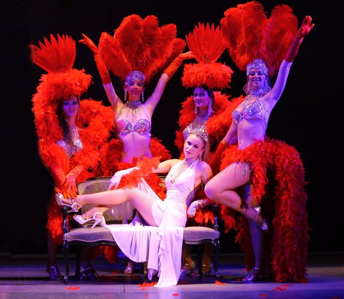 Les danseuses du Madison Show Cabaret