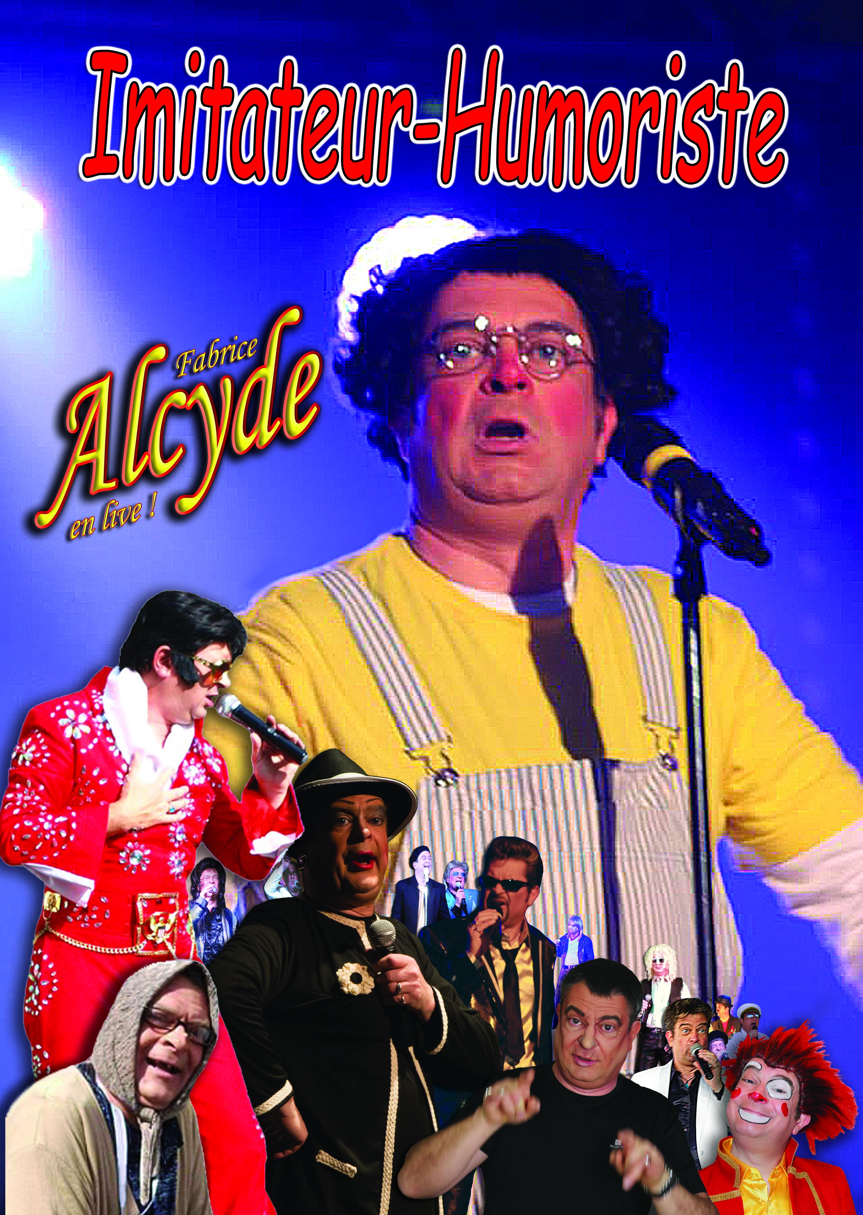 Alcyde imitateur du Madison Show Cabaret