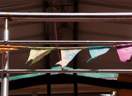Colour- & Meaningful: Prayerflags