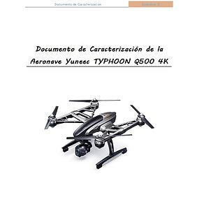 Documentación AESA, Manual de operaciones AESA, Typhoon Q500 4K, Drones  4K, cámara 4K