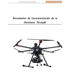 Documentación AESA, Manual de operaciones AESA, Tornado H920, Drones  4K, cámara 4K, Documento de caracterización