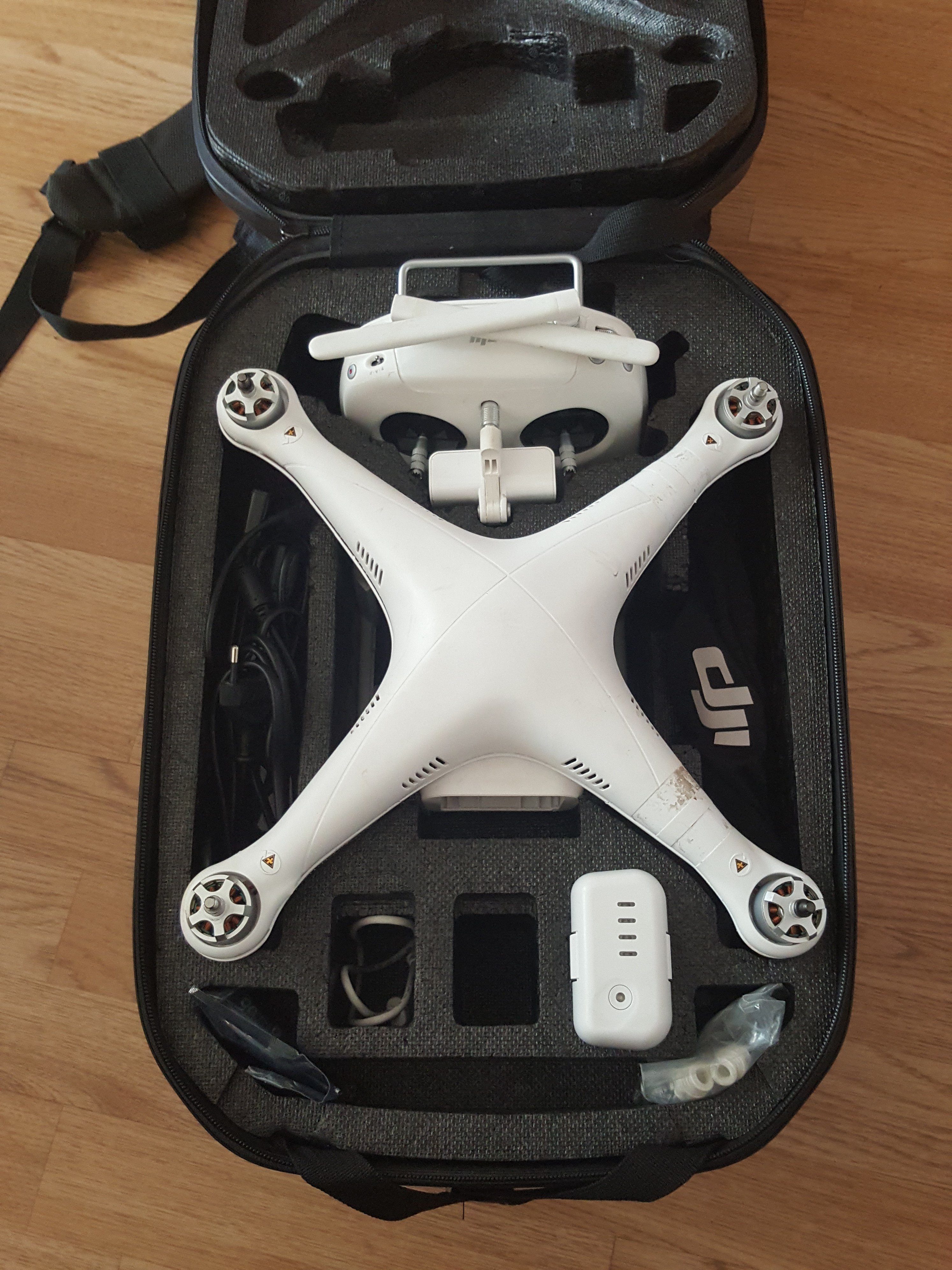 Phantom 3 Pro con mochila