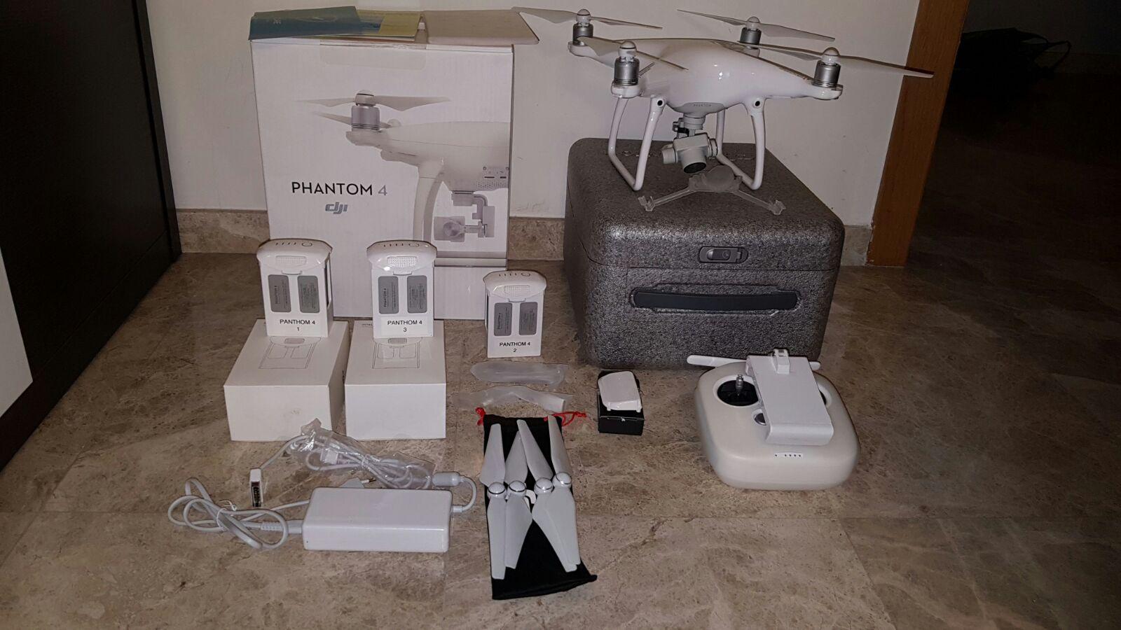 Phantom 4 con accesorios