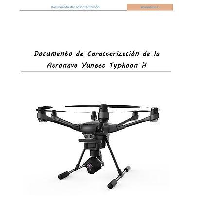 Documentación AESA, Manual de operaciones AESA, Typhoon H, Drones  4K, cámara 4K, Documento de caracterización