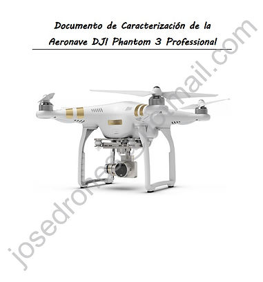 Documento de caracterización Phantom 3 Professional