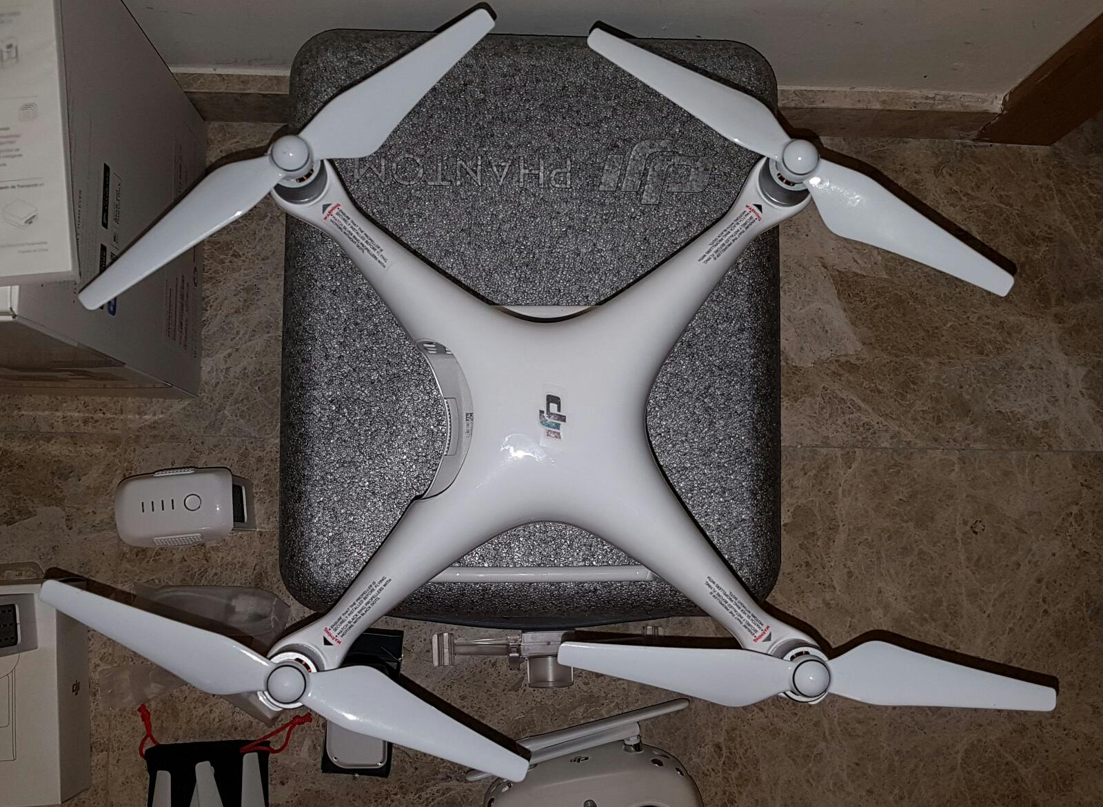 Vista superior Phantom 4