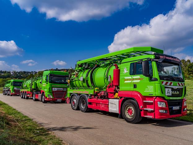 Tankwagen / Saugwagen