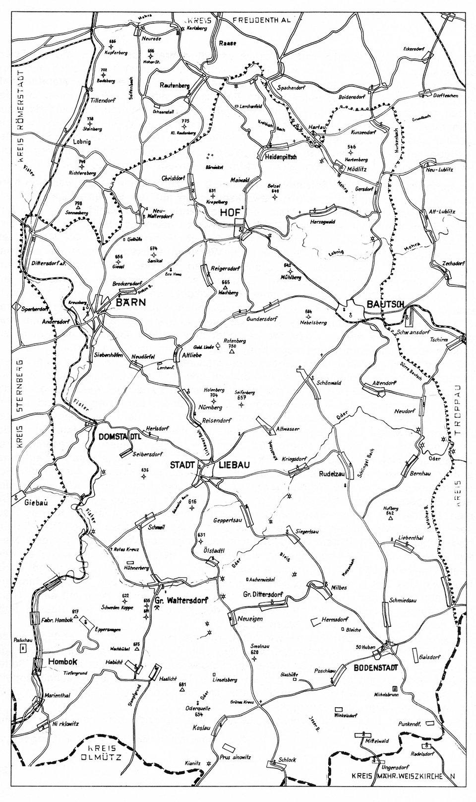 Baern Kreisgebiet 1938