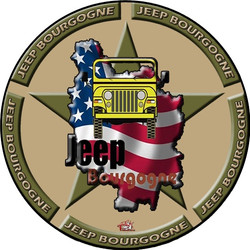 Jeep Bourgogne