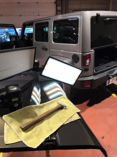 Dégrêlage Land Rover, Drôme