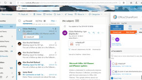 O2S now enables you to save mail threads with attachments!
