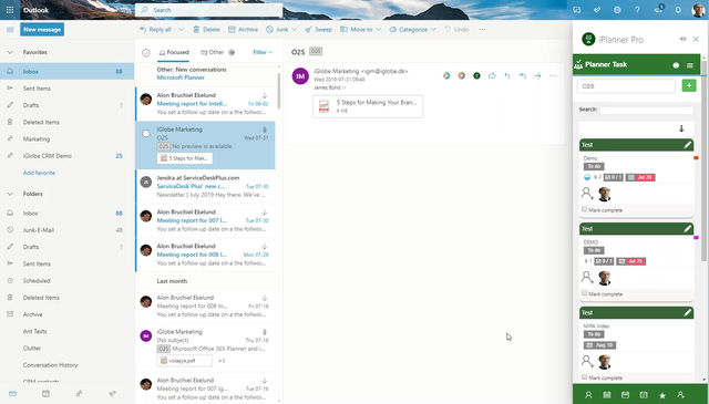 Did you know? You can see and add comments to tasks assigned by you to co-workers with iPlanner Pro