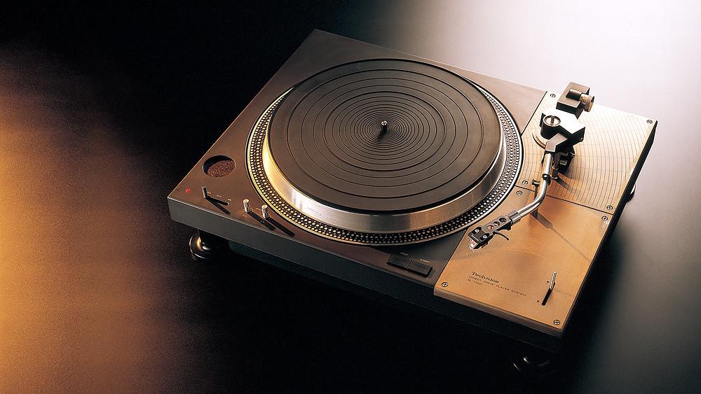 Photo illustrant la technics SL-1200