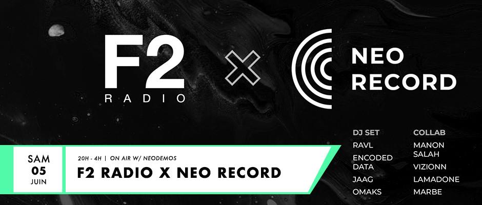Événement Live F2 Radio avec le collectif Néodemos