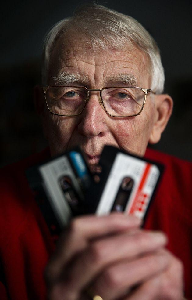 Photo de Lou Ottens le père de la cassette