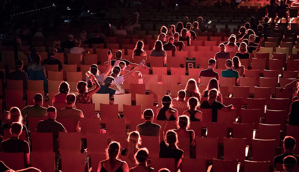Photo d'une salle de Concert