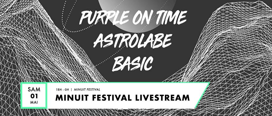 affiche pour Minuit Festival Live Stream