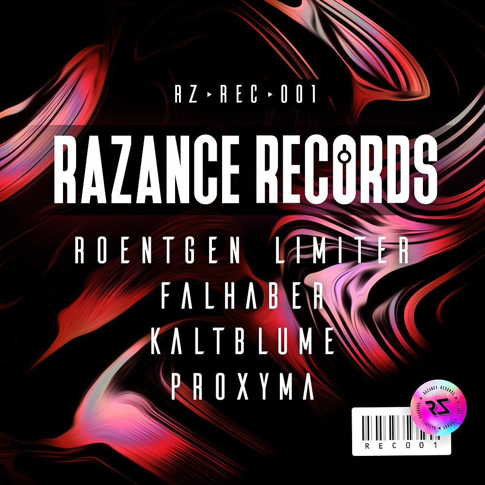 Affiche pour le label Techno Razance Records