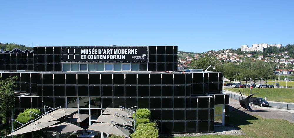photo du musée d'art moderne et contemporain de saint-etienne