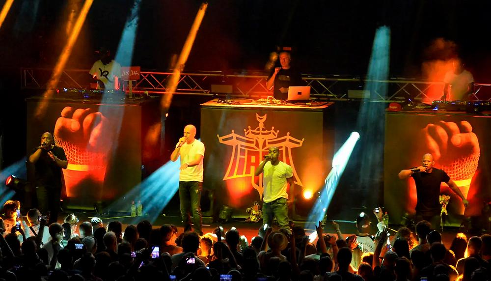 Photo du groupe IAM en concert